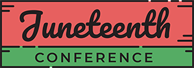 Juneteenth Conference Logo.